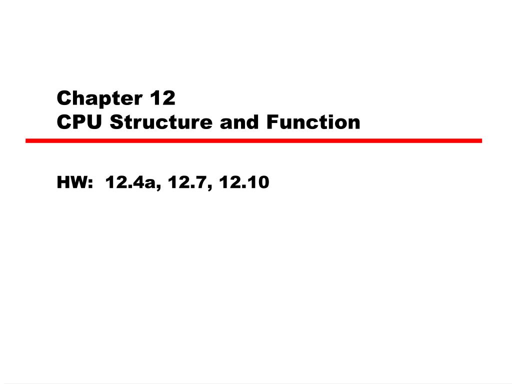 chapter 12 cpu structure and function