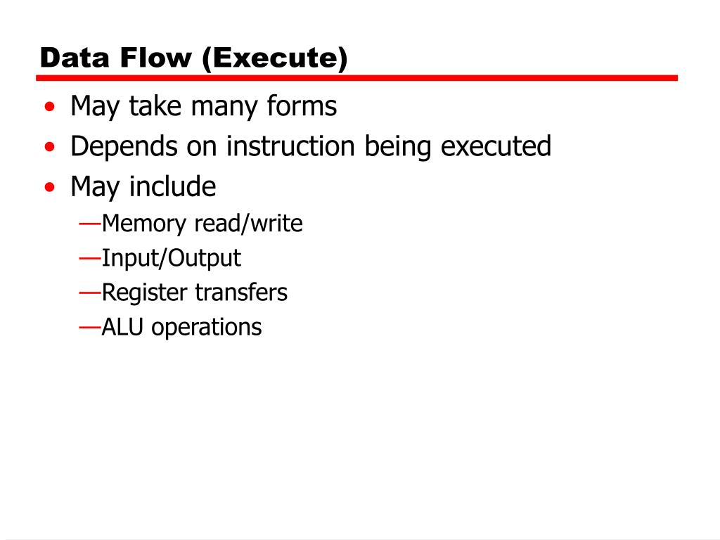 Data Flow (Execute)