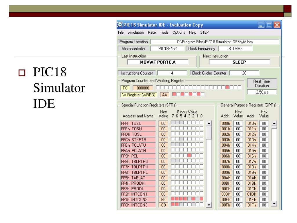 Pic18 simulator ide torrent in Title/Summary