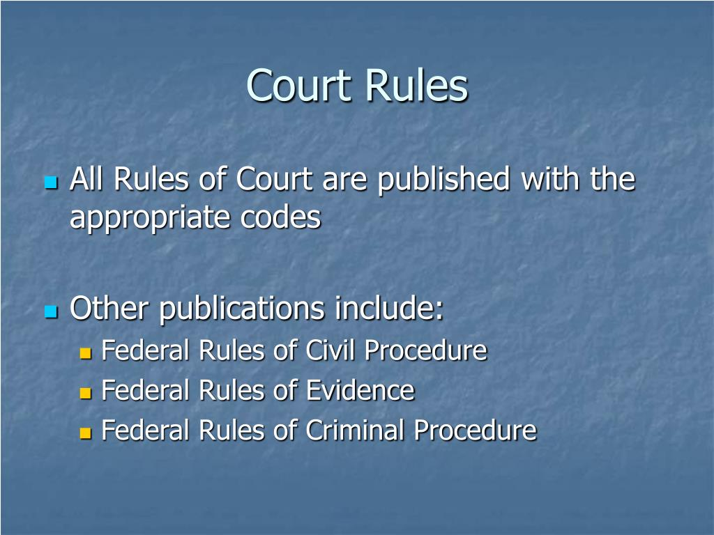 rules of court criminal procedure Act of adjournal (criminal procedure rules) 1996 si 1996/513 schedule 2 criminal procedure rules 1996 nb these rules.