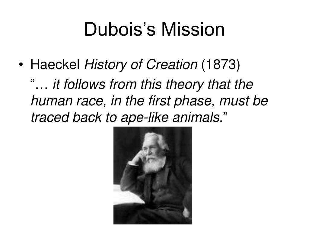 Dubois's Mission