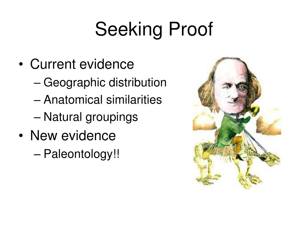 Seeking Proof