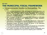 q2 cont the municipal fiscal framework26