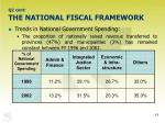 q2 cont the national fiscal framework
