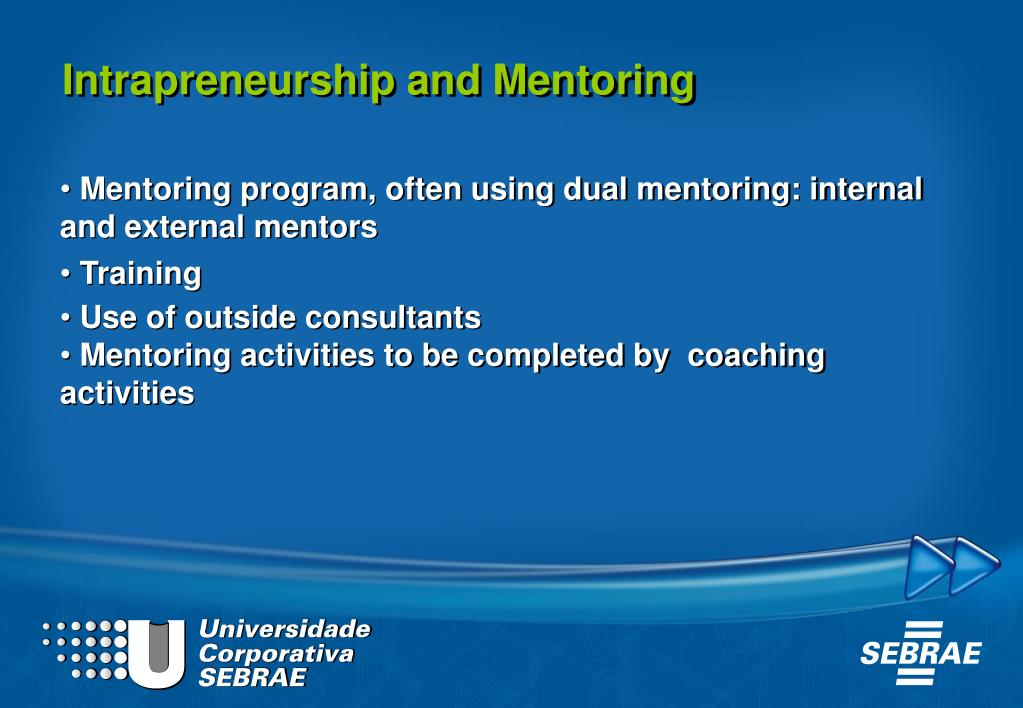 Intrapreneurship and Mentoring