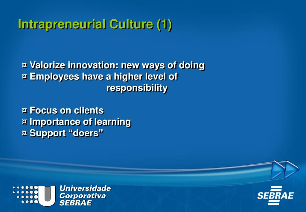 Intrapreneurial Culture (1)