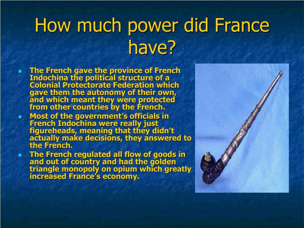 How much power did France have?