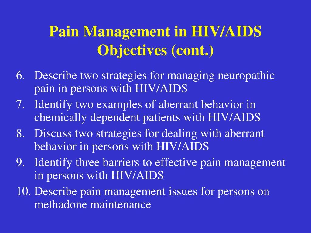 HIV, stigma & discrimination