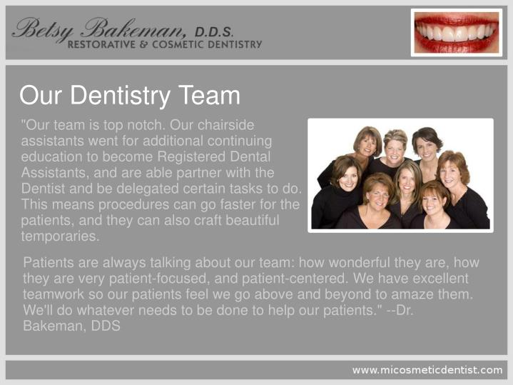 Our Dentistry Team
