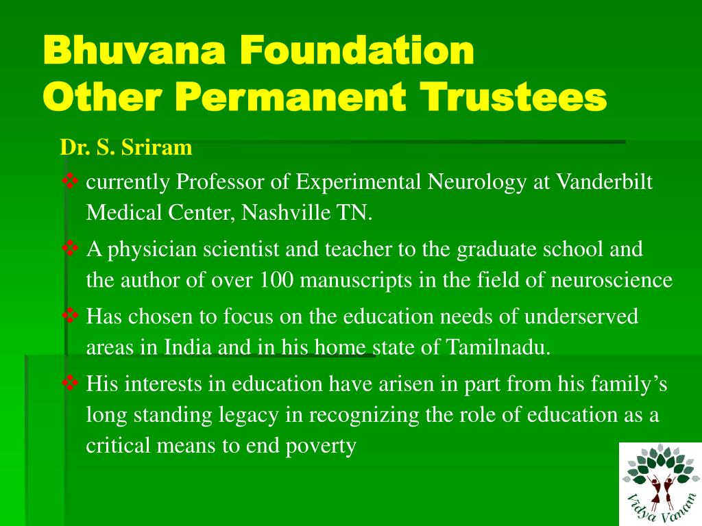 Bhuvana Foundation