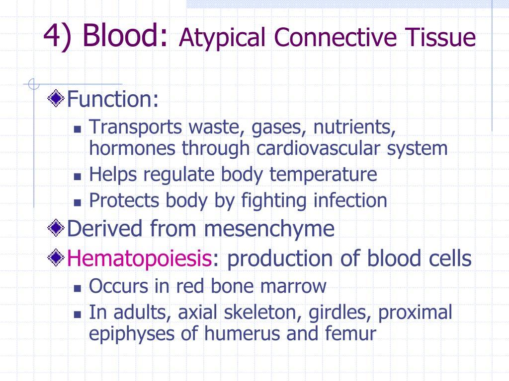 4) Blood: