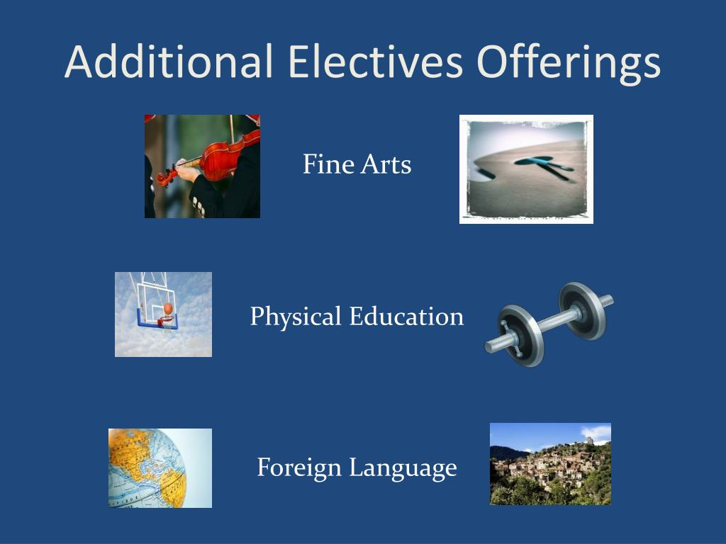 Additional Electives Offerings