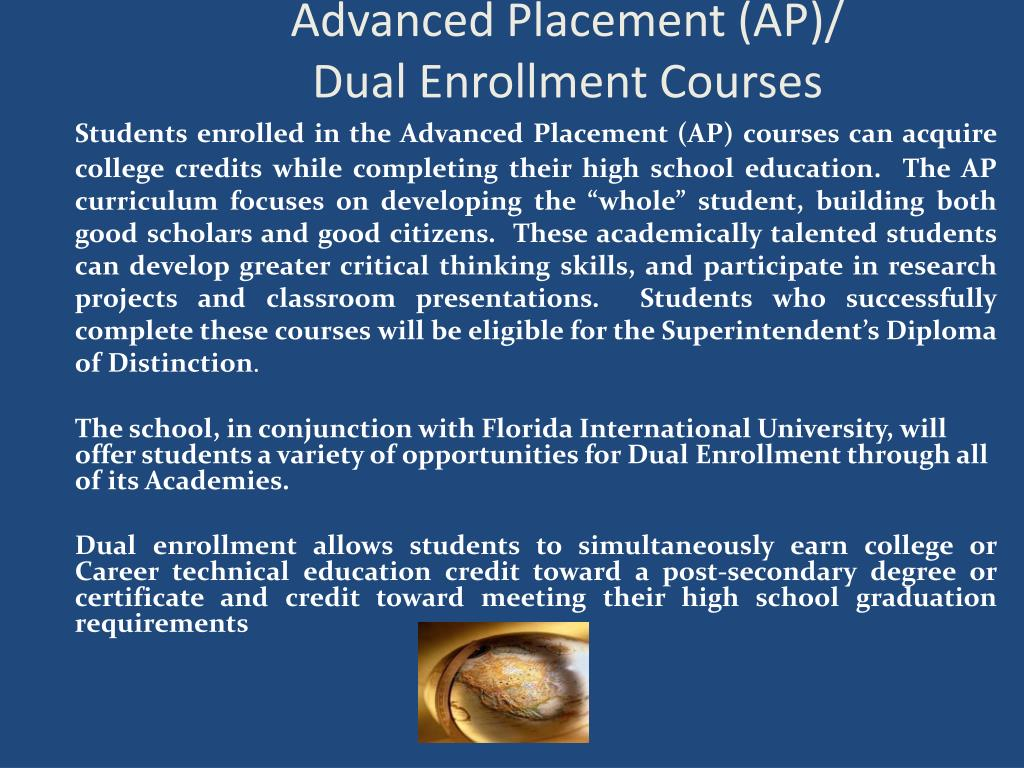 Advanced Placement (AP)/