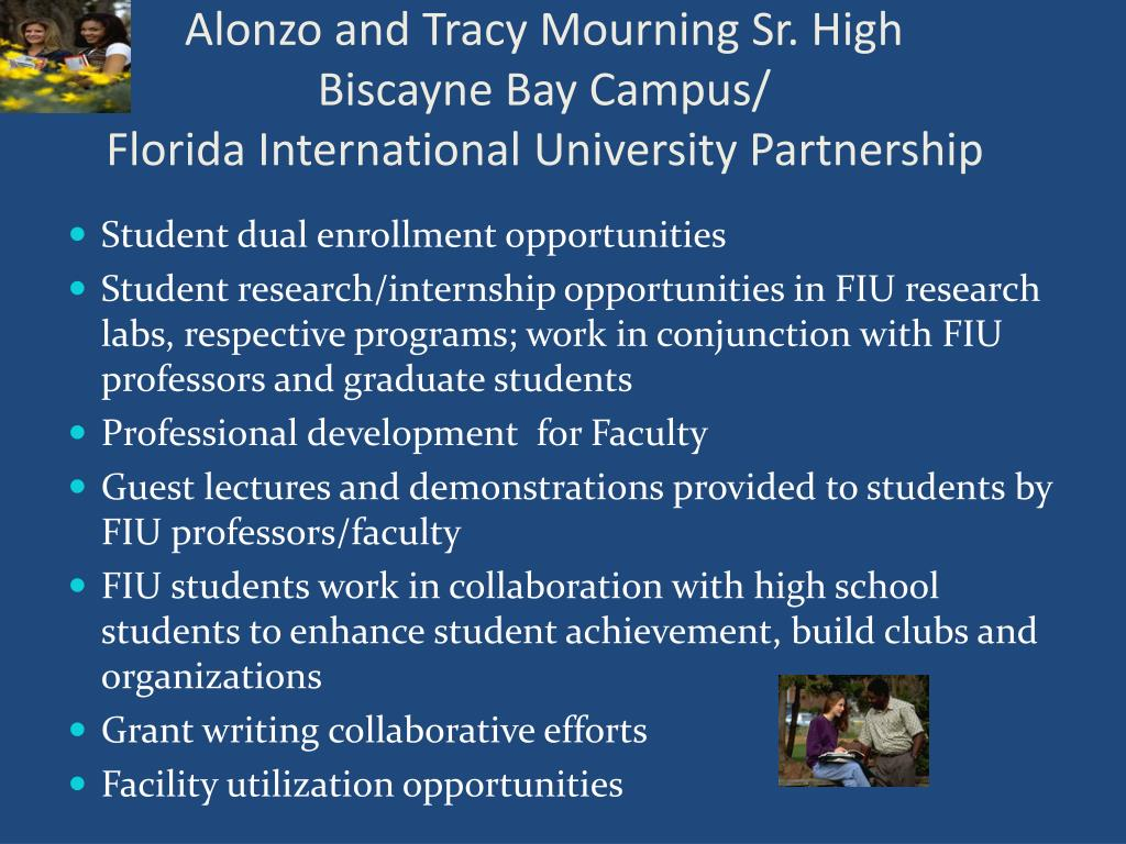 Alonzo and Tracy Mourning Sr. High