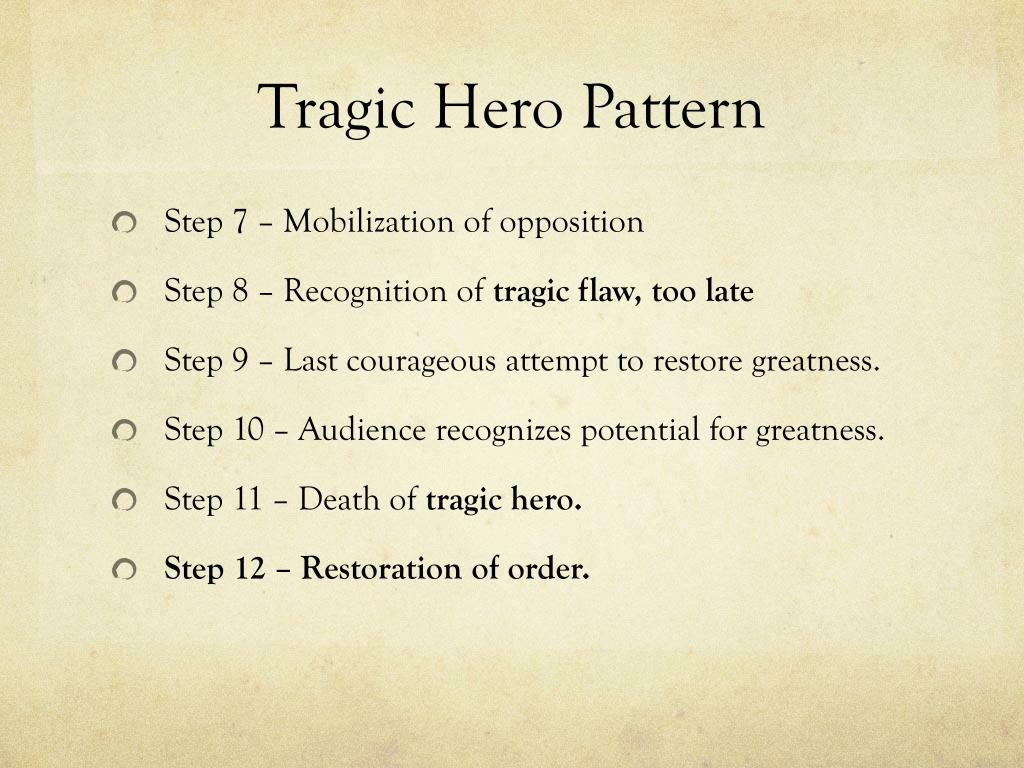 ppt the hero the tragic hero and the anti hero powerpoint ppt the hero the tragic hero and the anti hero powerpoint presentation id 331470