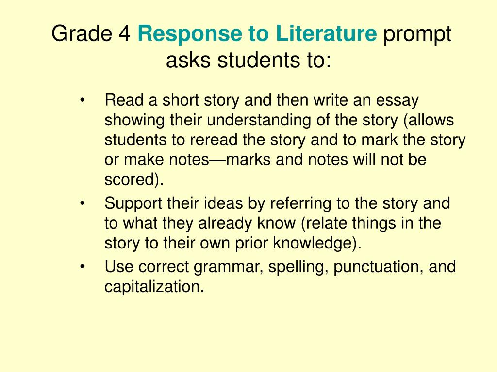 literary response essay prompt 2008 ap® english literature and composition free-response questions question 3 (suggested time--40 minutes this question counts as one-third of the total essay section score.