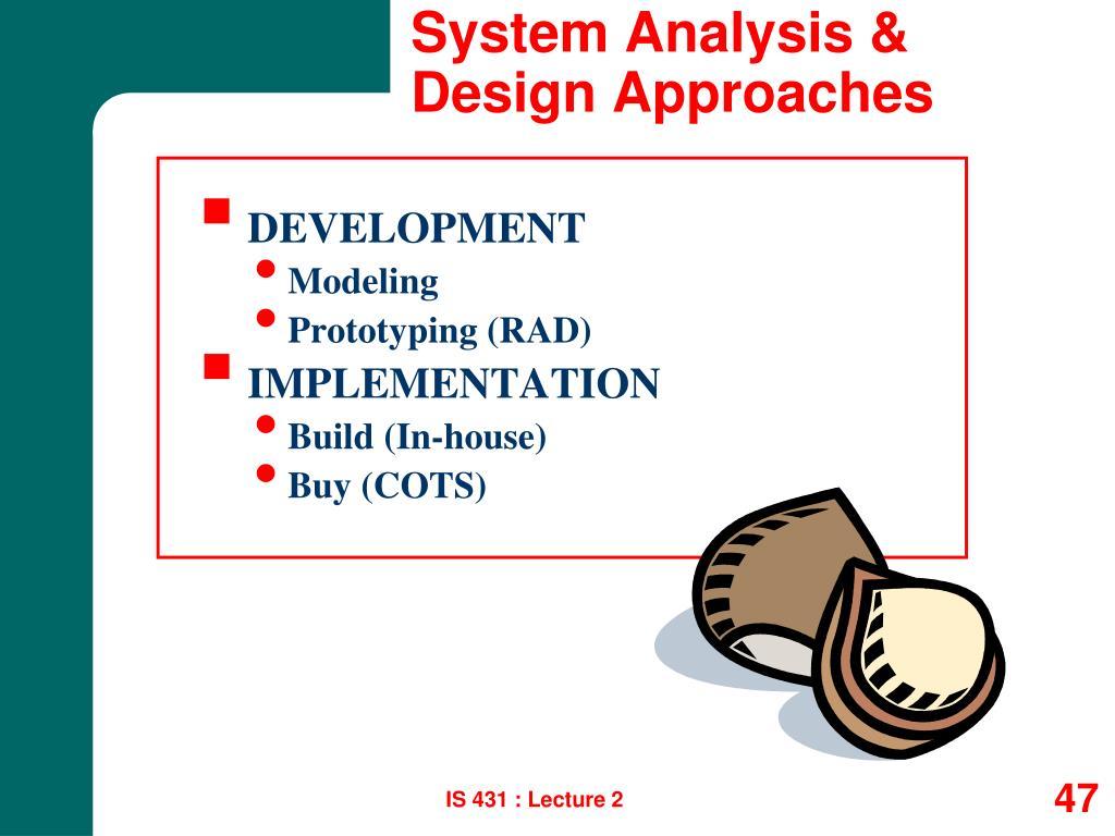 System Analysis &