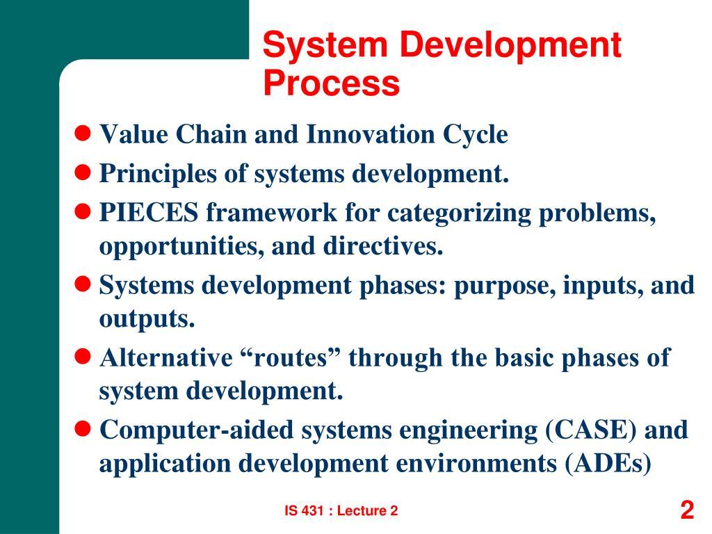 System Development Process