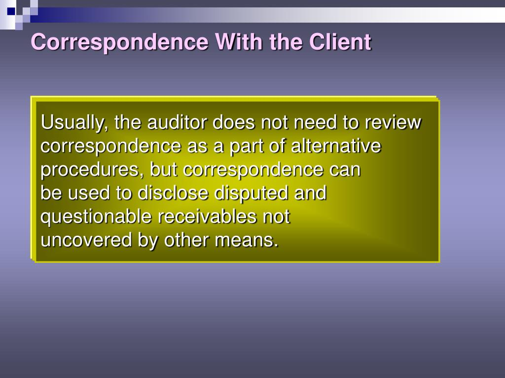 correspondence procedures Clarify procedure within scope as a result of pre-assessment audit correspondence management office (hcmo), code cic, for managing, processing, and 39 ccl correspondence control liaison the action office's.