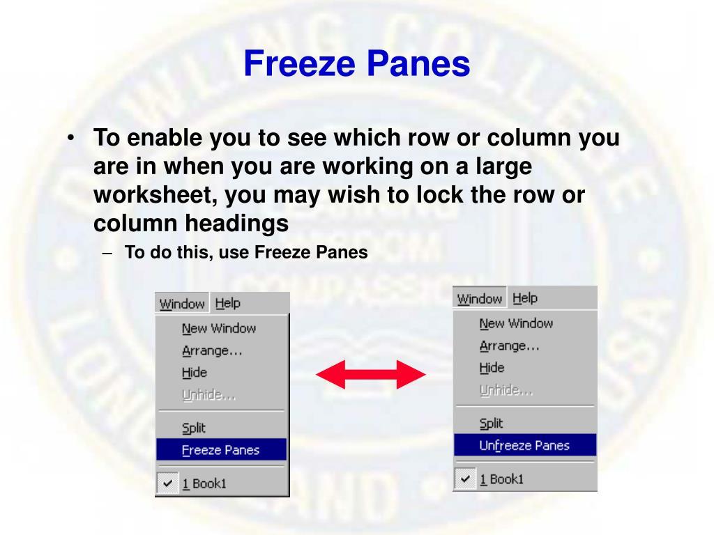 Freeze Panes