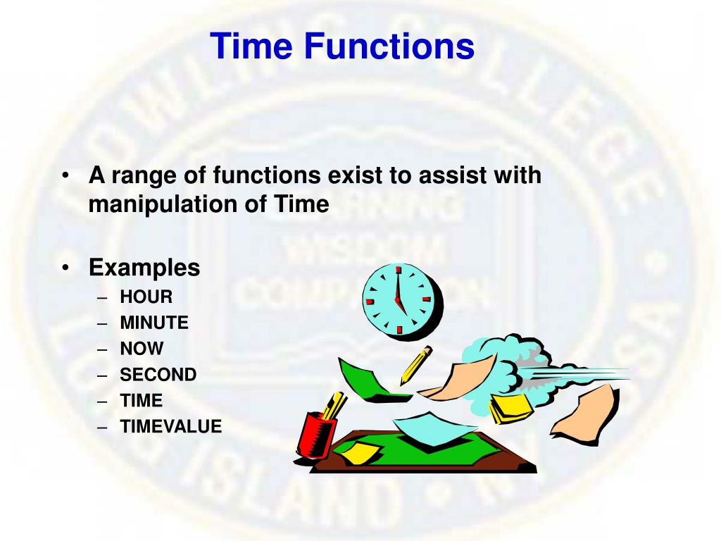 Time Functions