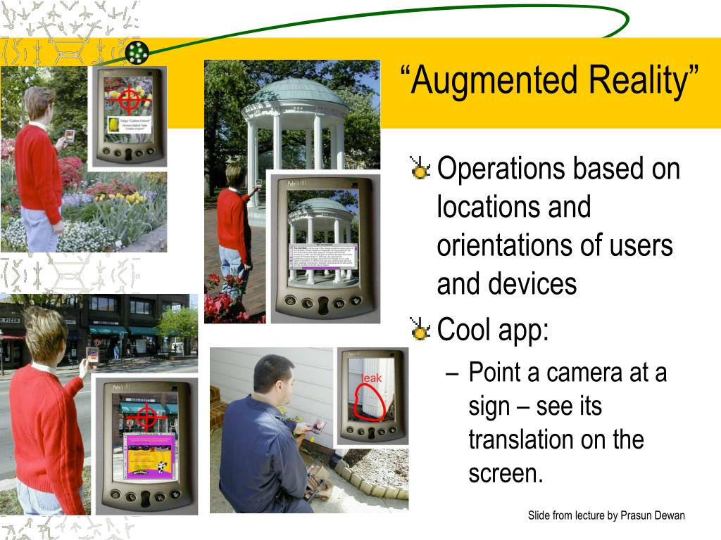 """""""Augmented Reality"""""""