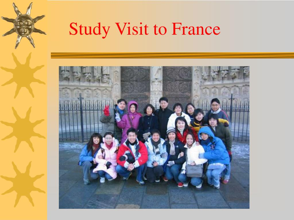 Study Visit to France