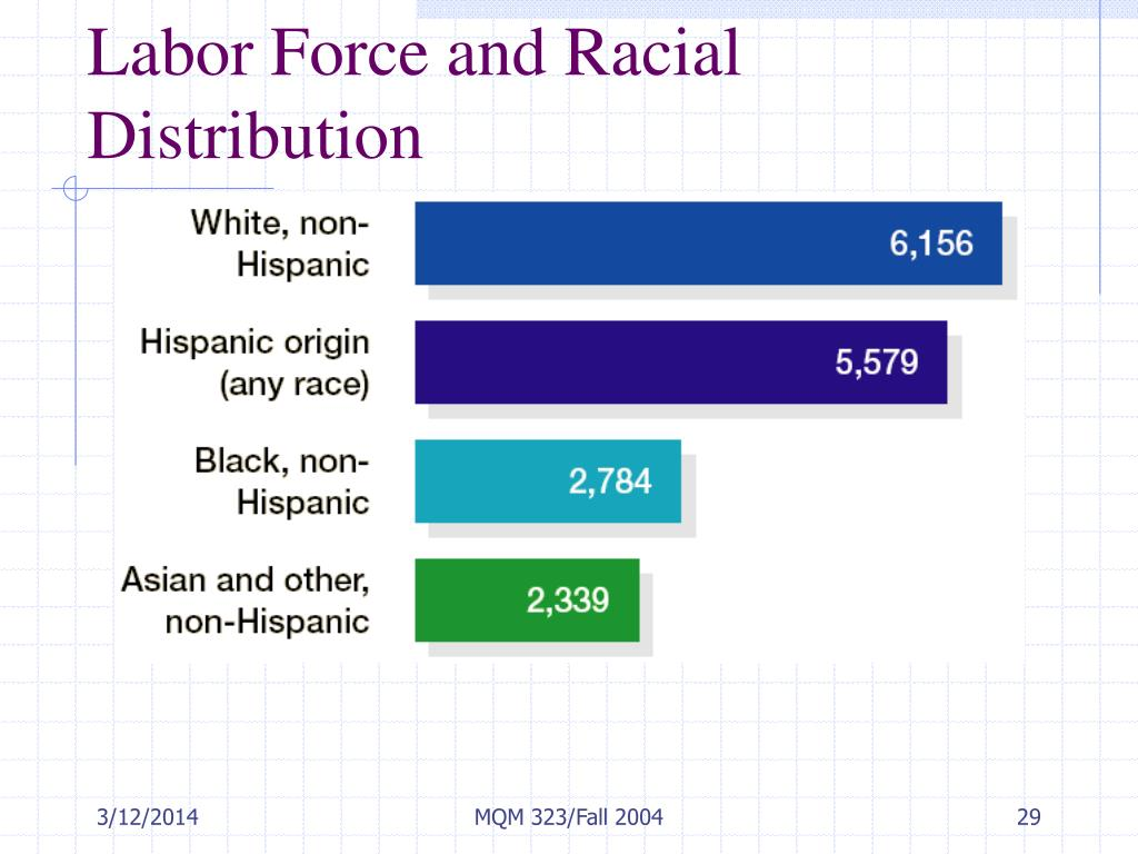 Labor Force and Racial Distribution