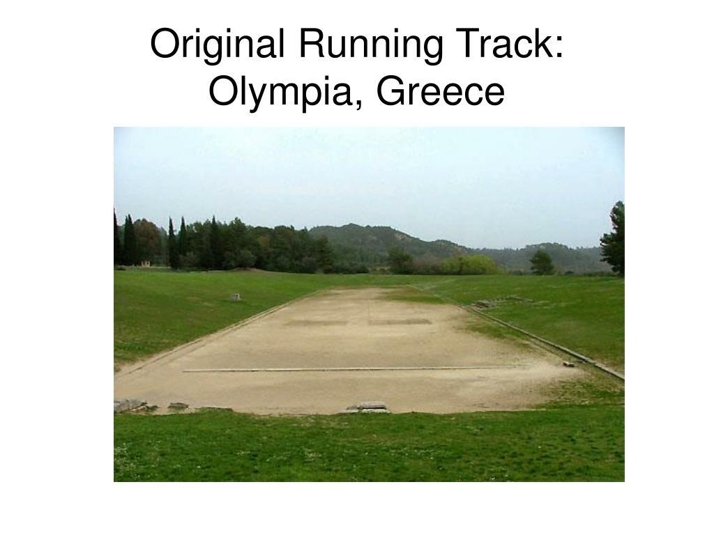 Original Running Track: