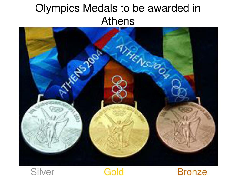 Olympics Medals to be awarded in Athens
