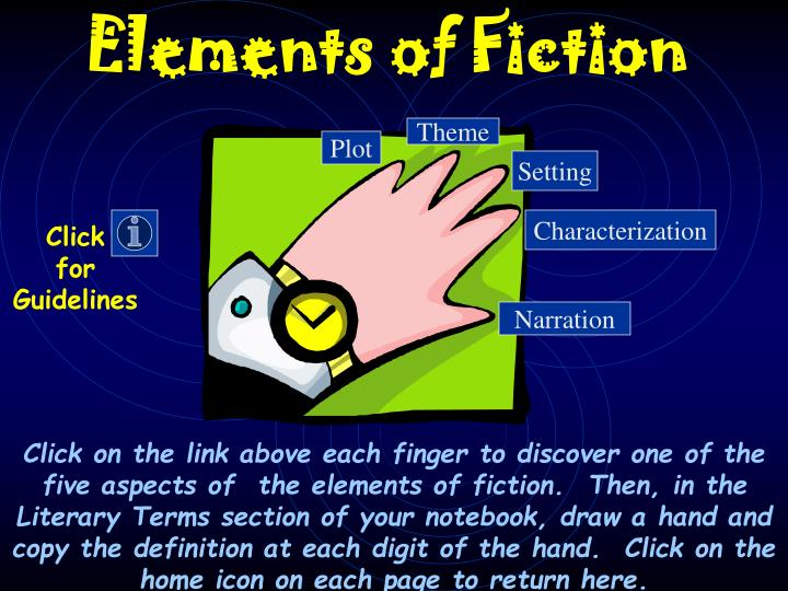 Elements of fiction l.jpg