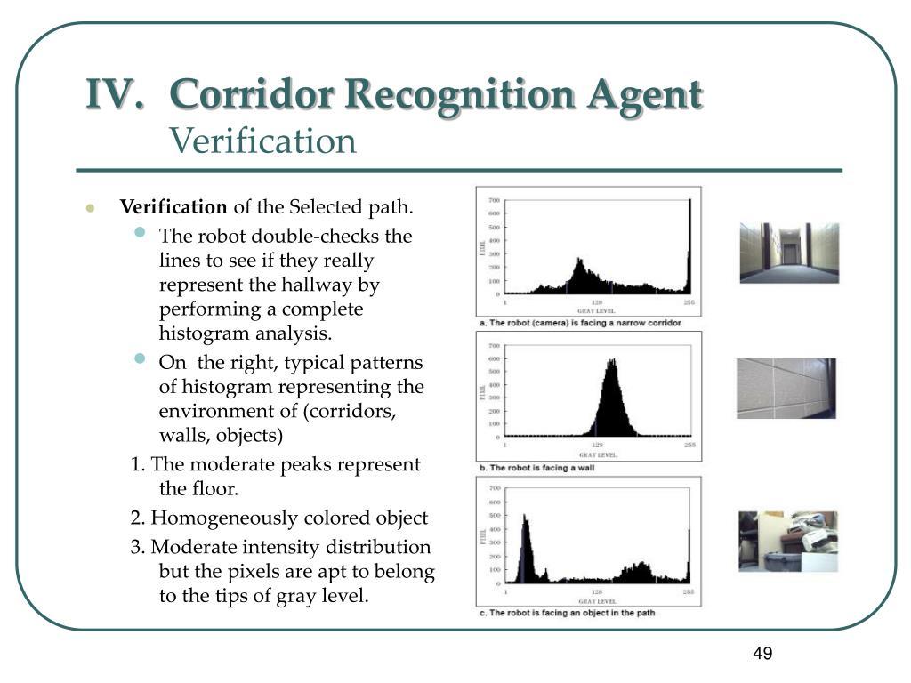 Corridor Recognition Agent