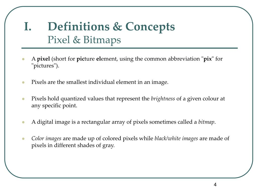 Definitions & Concepts