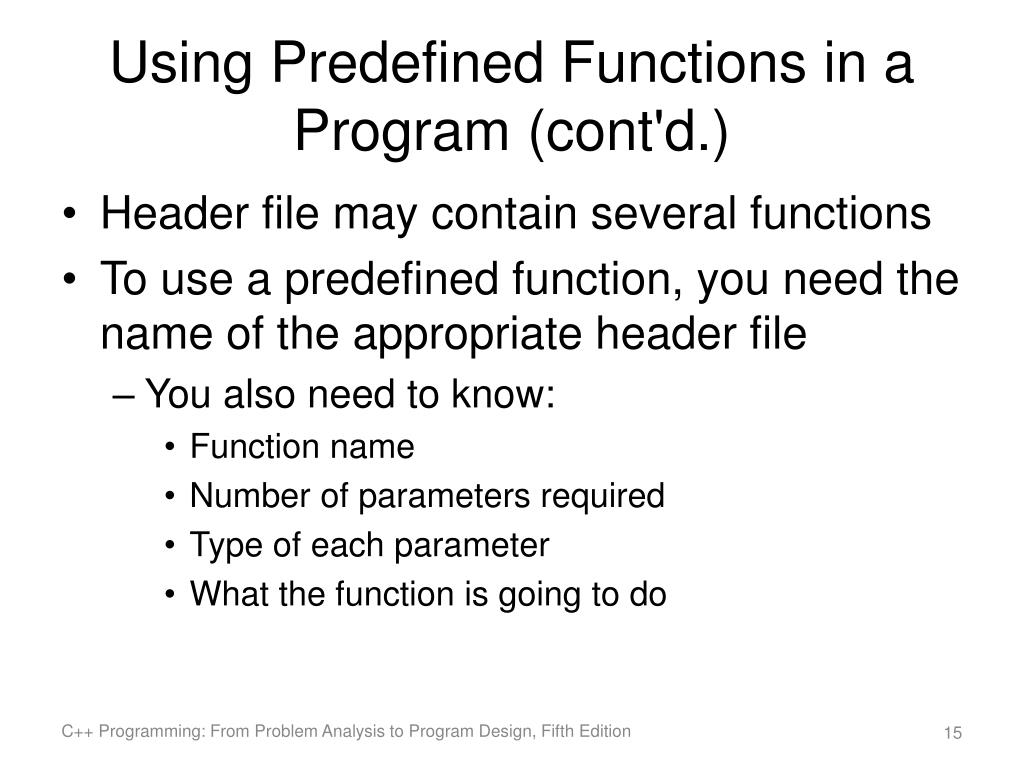 Ppt C Programming From Problem Analysis To Program