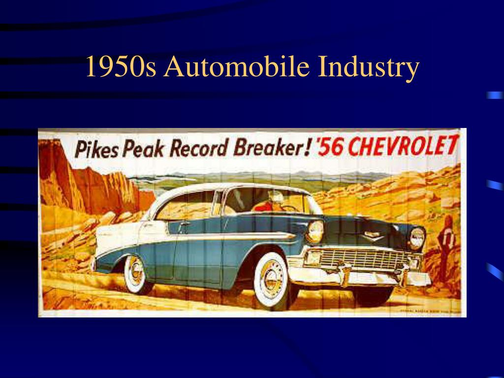 1950s Automobile Industry