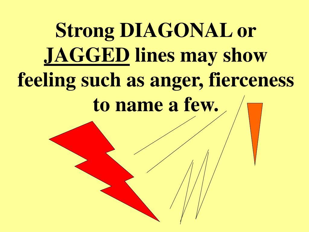 Strong DIAGONAL or
