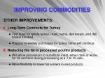 improving commodities13