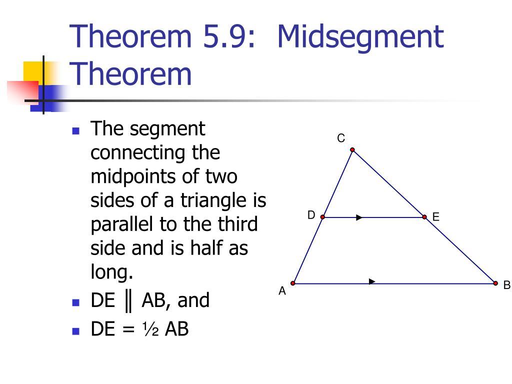 Midsegment Theorem Definition Fuzzbeed Hd Gallery