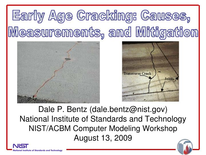 Early Age Cracking: Causes,