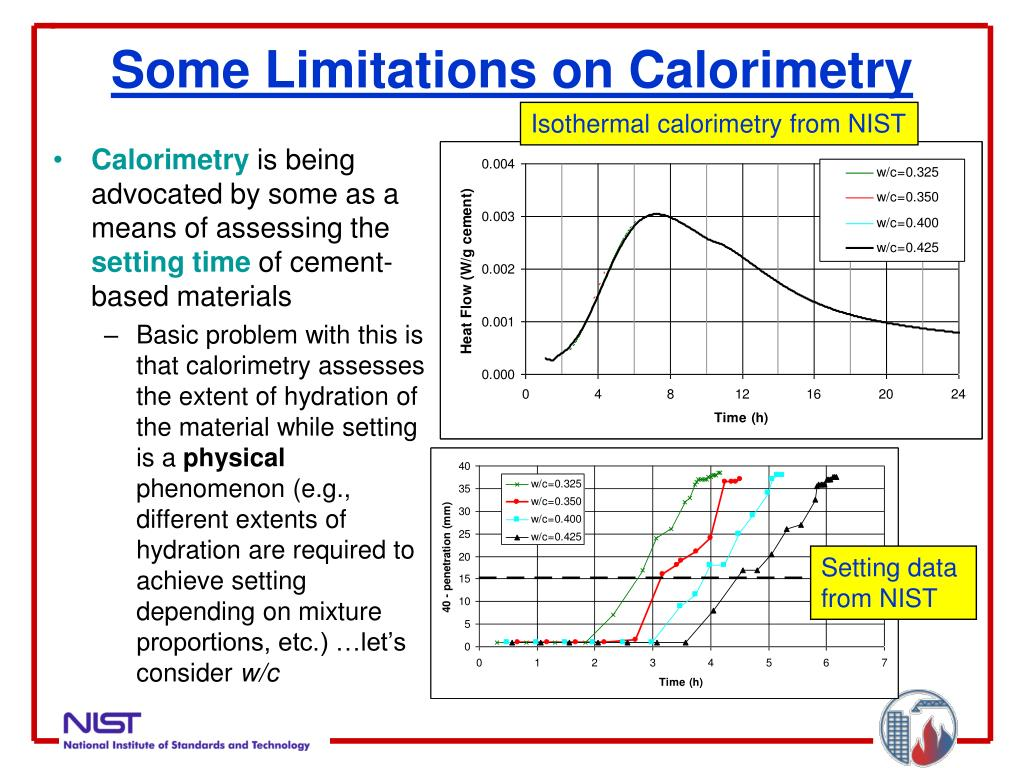 Some Limitations on Calorimetry