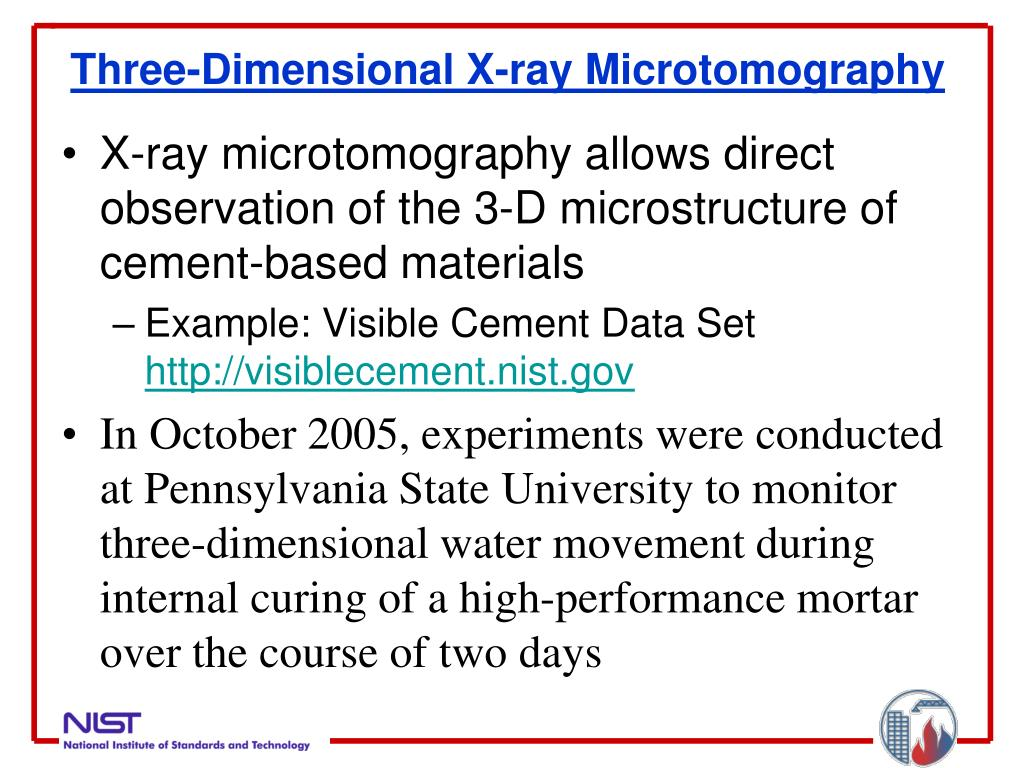 Three-Dimensional X-ray Microtomography