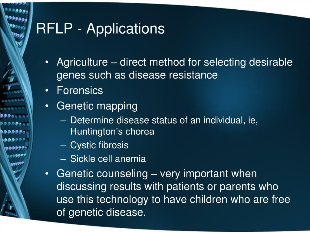 RFLP - Applications