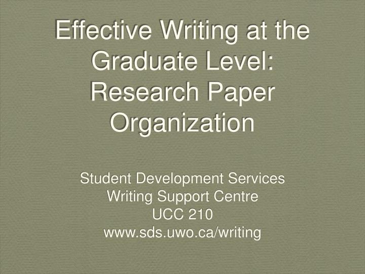 Cheap paper writing service graduate level