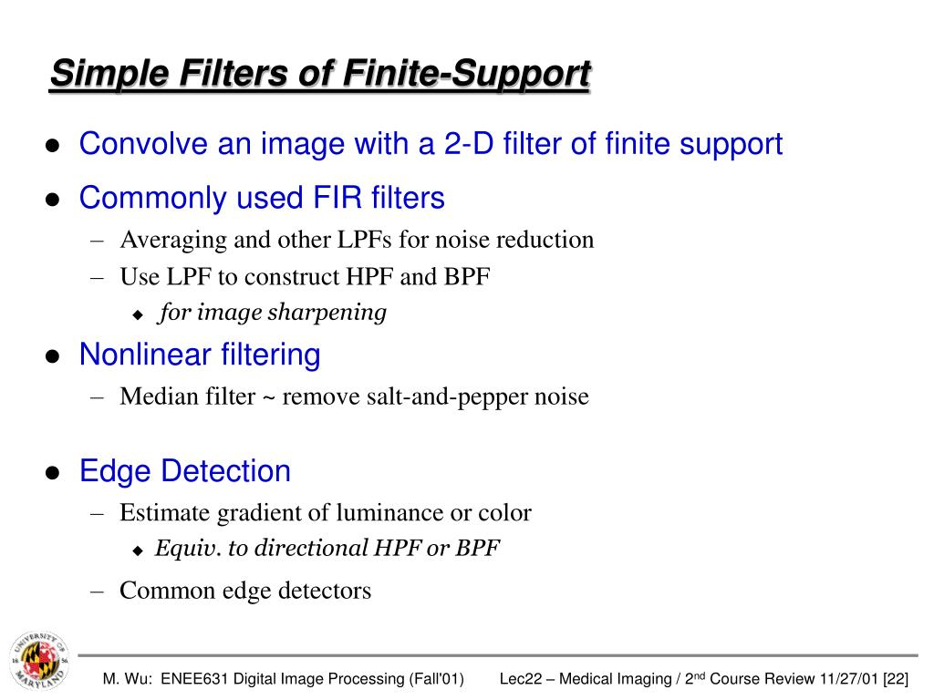 Simple Filters of Finite-Support