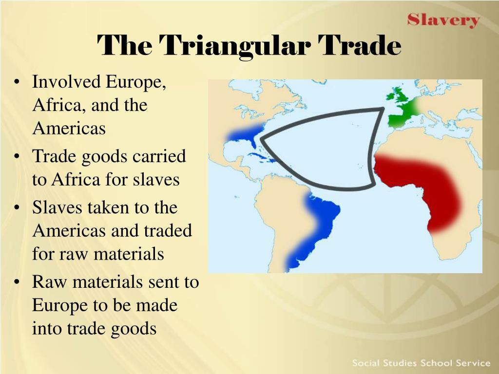 essay on the triangular slave trade While the triangular slave trade was never the prime feature of rhode island's commercial activity, it was important there indeed, contemporaries claimed that new england distilleries dominated the enormous rum trade into africa the activities of the newport merchant aaron lopez are perhaps the best-known evidence for the existence of the.