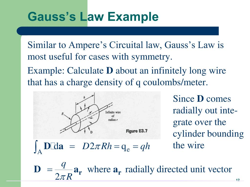 Gauss's Law Example