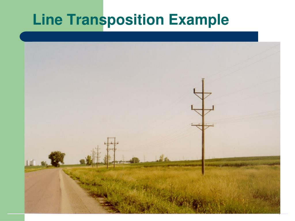 Line Transposition Example