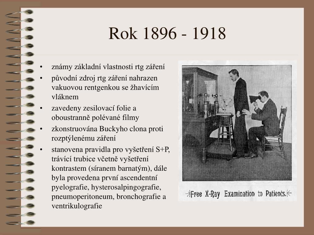 Rok 1896 - 1918