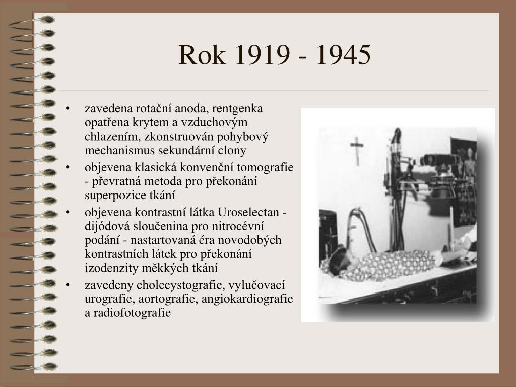 Rok 1919 - 1945