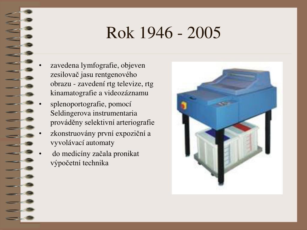 Rok 1946 - 2005